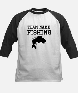 (Team Name) Fishing Baseball Jersey