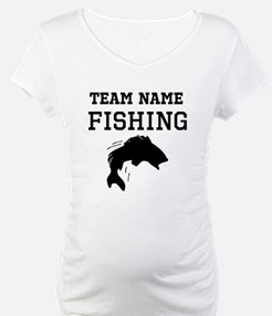 Fishing maternity clothes maternity wear shirts for Fishing team names