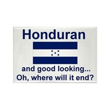 Good Looking Honduran Rectangle Magnet