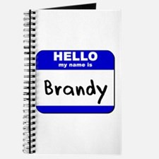 hello my name is brandy Journal