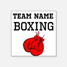 (Team Name) Boxing Sticker