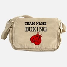(Team Name) Boxing Messenger Bag