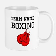 (Team Name) Boxing Mugs