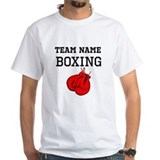 Boxing Mens Classic White T-Shirts