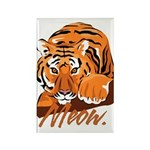 Meow With Attitude Rectangle Magnet