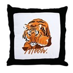 Meow With Attitude Throw Pillow