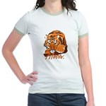 Meow With Attitude Jr. Ringer T-Shirt
