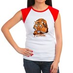 Meow With Attitude Women's Cap Sleeve T-Shirt