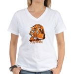 Meow With Attitude Women's V-Neck T-Shirt