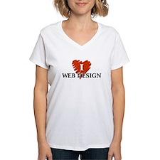 I Love Web Design Shirt