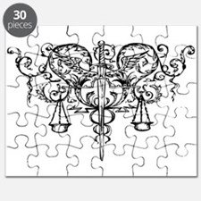 Cute Scales of justice Puzzle