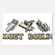Must Build! Postcards (Package of 8)