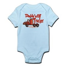 Daddys Lil' Trucker Infant Bodysuit