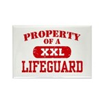 Property of a Lifeguard Rectangle Magnet