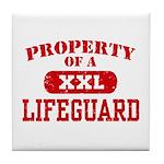 Property of a Lifeguard Tile Coaster