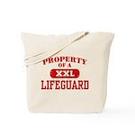 Property of a Lifeguard Tote Bag