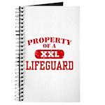Property of a Lifeguard Journal