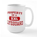 Property of a Lifeguard Large Mug