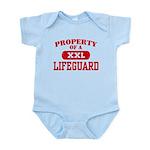 Property of a Lifeguard Infant Bodysuit