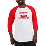 Property of a Lifeguard Baseball Jersey