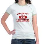 Property of a Lifeguard Jr. Ringer T-Shirt