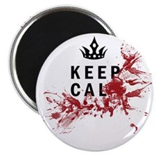 Keep Calm Bloody Shirt Magnet