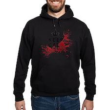 Keep Calm Bloody Shirt Hoodie