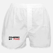 Powered By Piwo Polish Beer Boxer Shorts