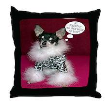 Chloe -Chihuahua Throw Pillow