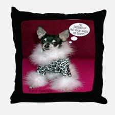 Chloe -Chihuahua Throw Pillow