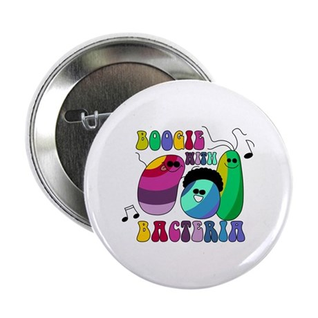 Boogie with Bacteria Button