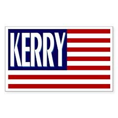 Kerry Flag (bumper sticker)