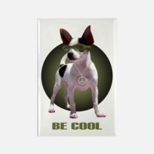 Chihuahua Be Cool Rectangle Magnet