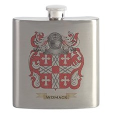Womack Family Crest (Coat of Arms) Flask