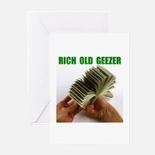 RICH GEEZER Greeting Cards (Pk of 10)
