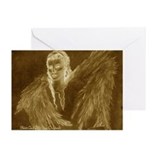 Glowing Angel Greeting Cards (Pk of 10)