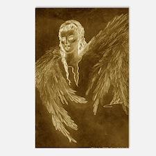 Glowing Angel Postcards (Package of 8)