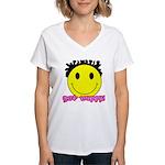 Get Nappy Women's V-Neck T-Shirt