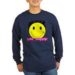 Get Nappy Long Sleeve Dark T-Shirt