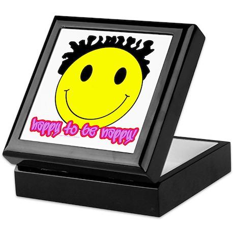 Happy To Be Nappy Keepsake Box