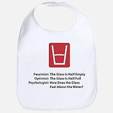 Psychologist Glass Bib
