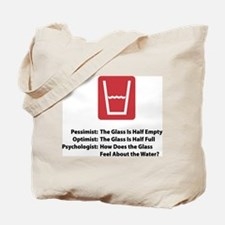 Psychologist Glass Tote Bag