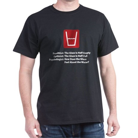 Psychologist Glass Dark T-Shirt