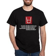 Psychologist Glass T-Shirt