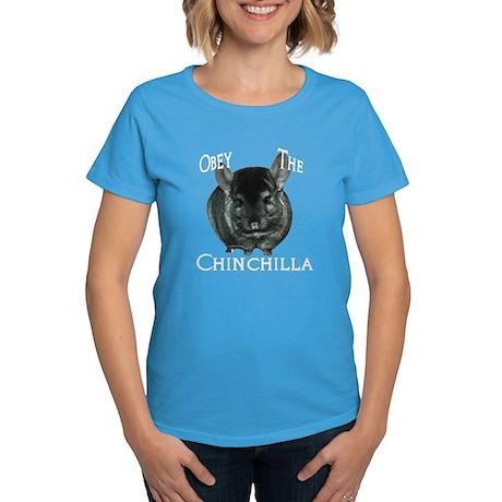 Chinchilla Obey Women's Dark T-Shirt