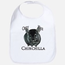 Chinchilla Obey Bib