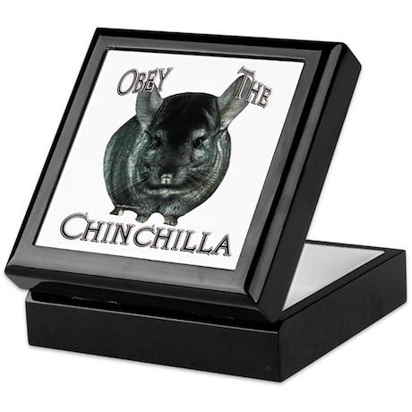 Chinchilla Obey Keepsake Box