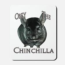 Chinchilla Obey Mousepad