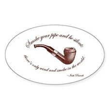 Pipe Oval Decal