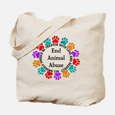 T-Fund 2 Animal Abuse Tote Bag
